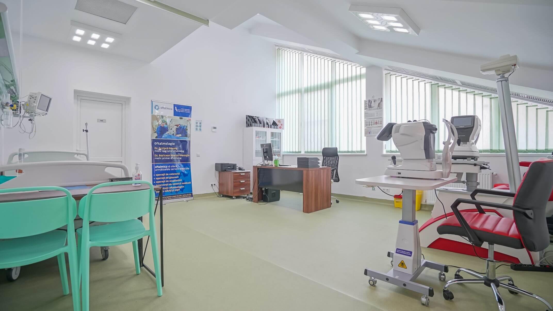 oftalmologie cab consultatii si bloc operator